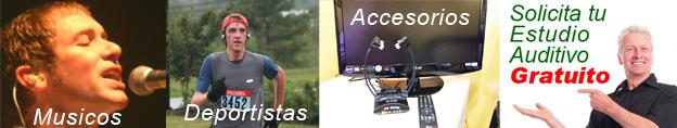 Audífonos y accesorios para sordos